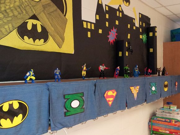 Super Heroes Decor For Classroom : Some new class decorations the keto teacher
